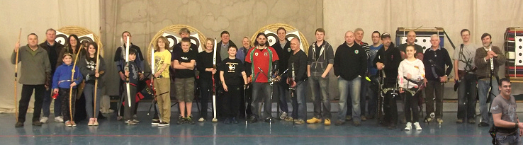 Llantwit Major Archers- St Atahn - 04/03/13